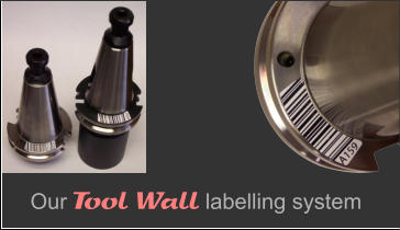 Our Tool Wall labelling system